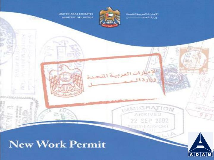 New work permit