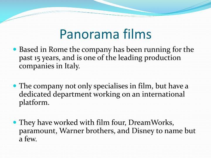 Panorama films