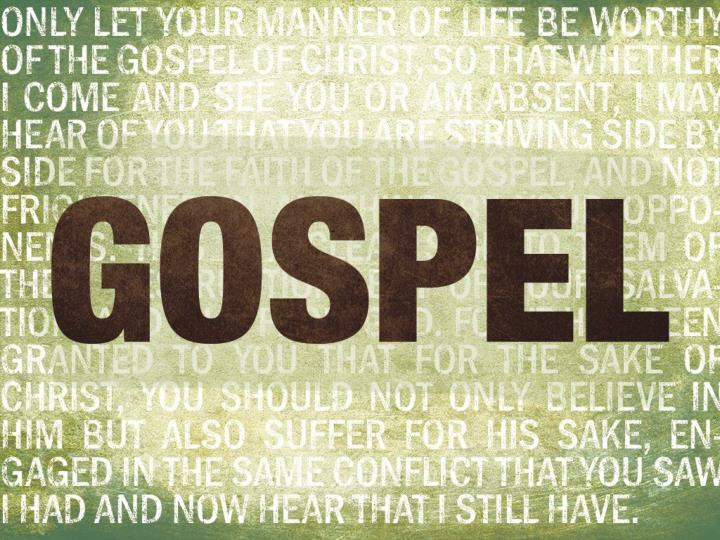 Defined by the gospel gospel message what we believe gospel community who we are