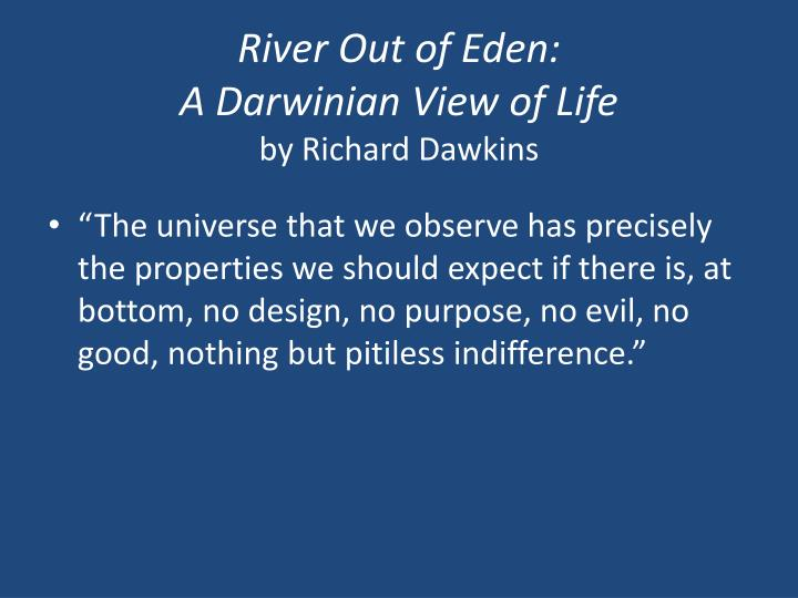 River Out of Eden: