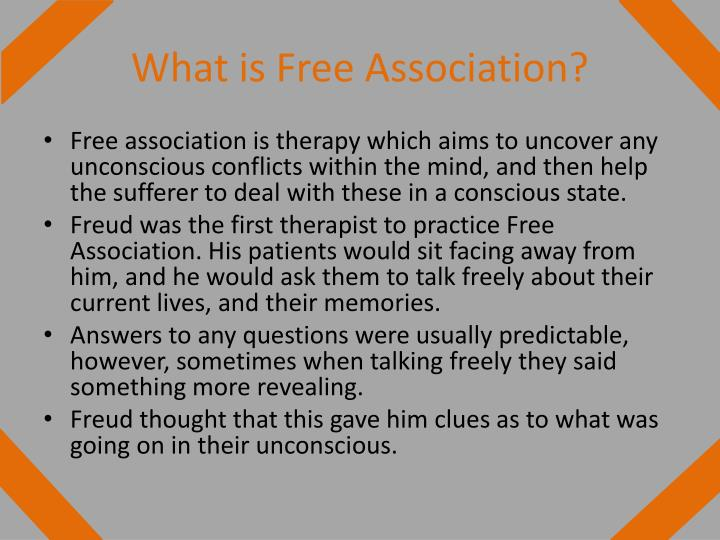 What is Free Association?