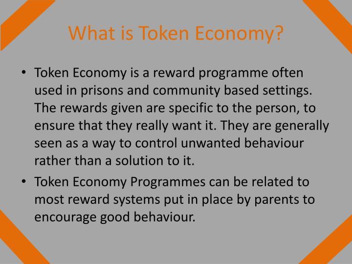 What is Token Economy?
