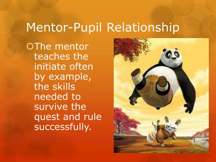 Mentor-Pupil Relationship
