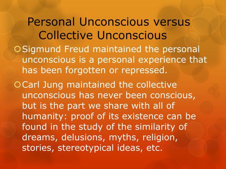 Personal Unconscious versus