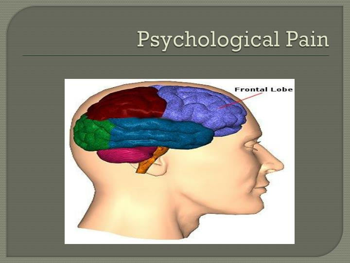 Psychological Pain