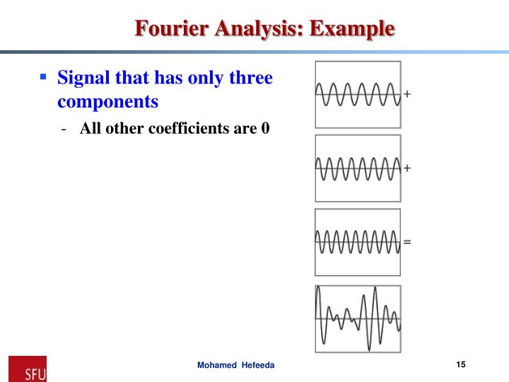 Signal that has only three components
