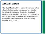 aim asap example