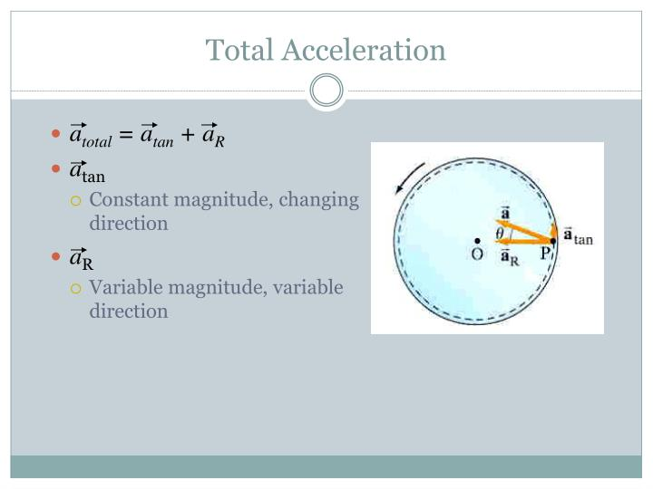 Total Acceleration