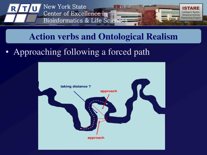 Action verbs and Ontological Realism