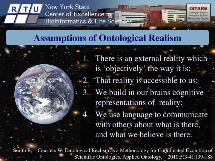 Assumptions of Ontological Realism