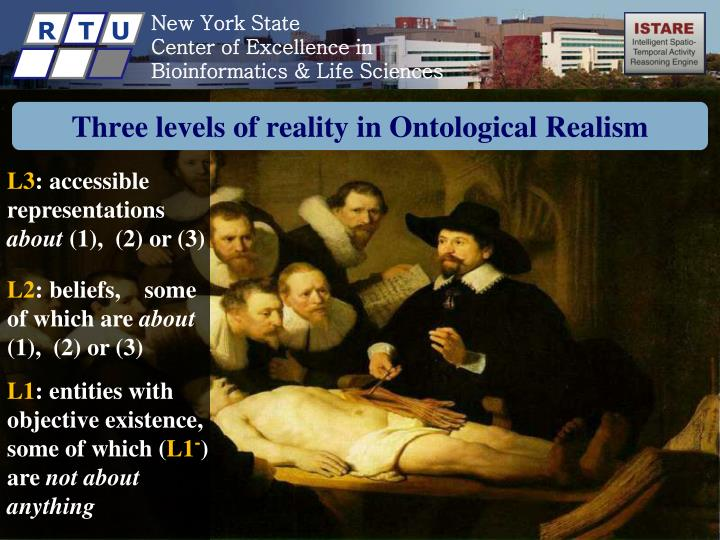 Three levels of reality in ontological realism