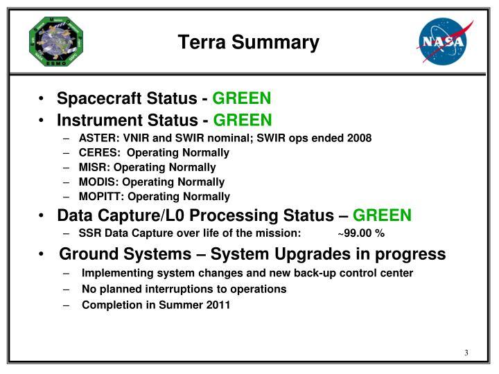 Terra Summary