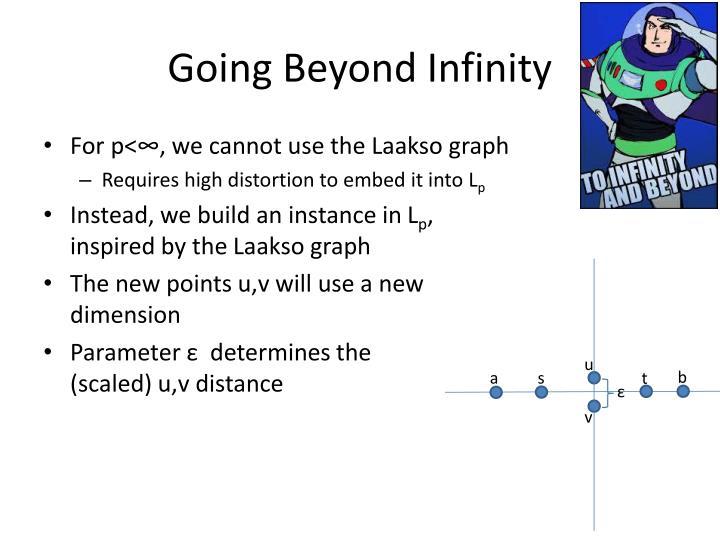 Going Beyond Infinity