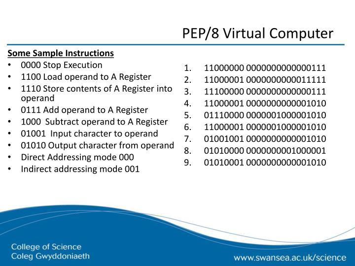 PEP/8 Virtual Computer