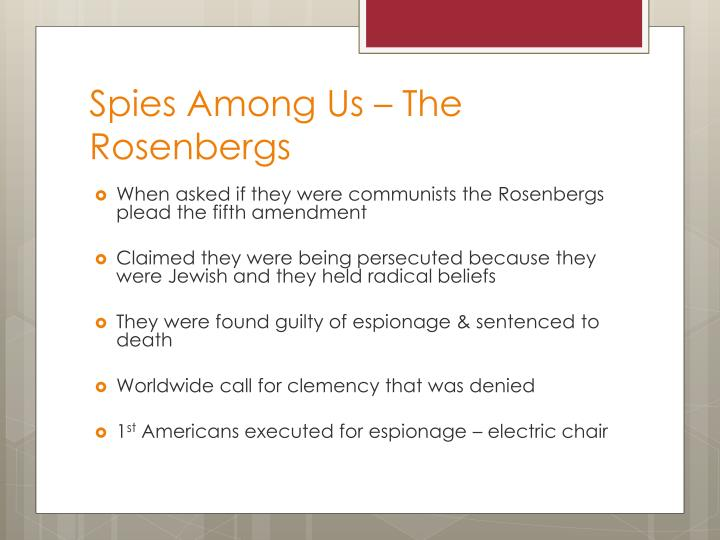Spies Among Us – The