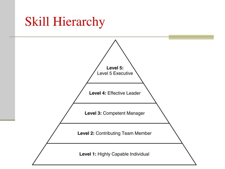 Skill Hierarchy