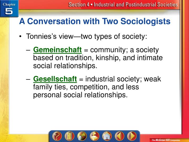 A Conversation with Two Sociologists