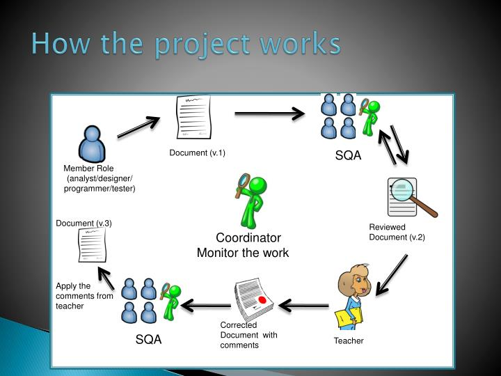 How the project works