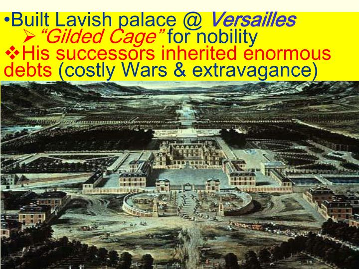Built Lavish palace @