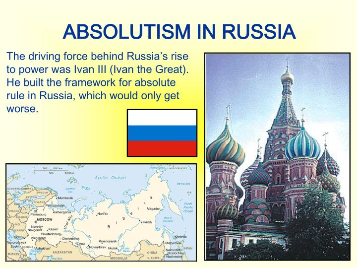 ABSOLUTISM IN RUSSIA