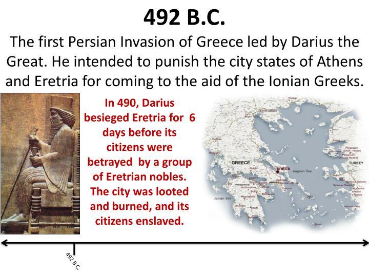 492 B.C.
