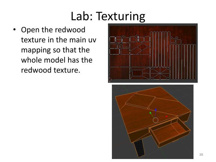 Lab: Texturing