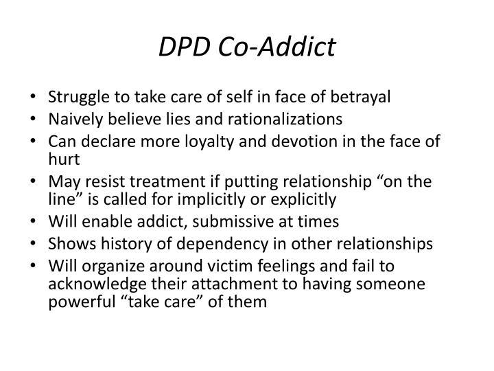 DPD Co-Addict