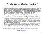 facebook for global leaders