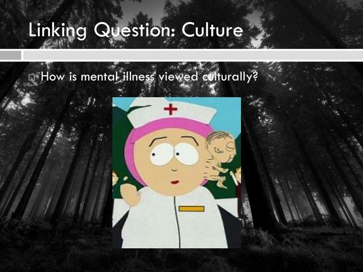 Linking Question: Culture