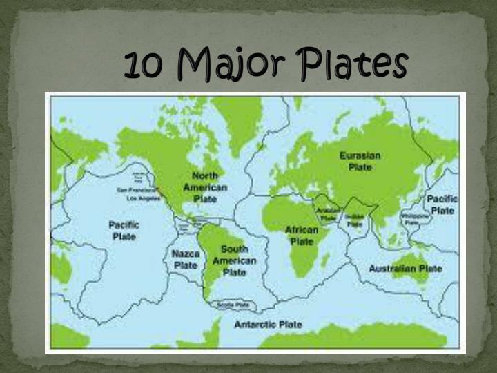 10 Major Plates