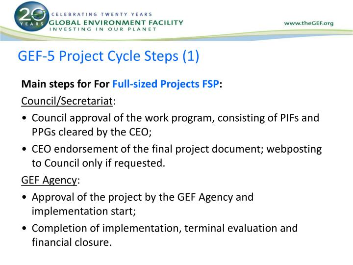 GEF-5 Project Cycle Steps (1)