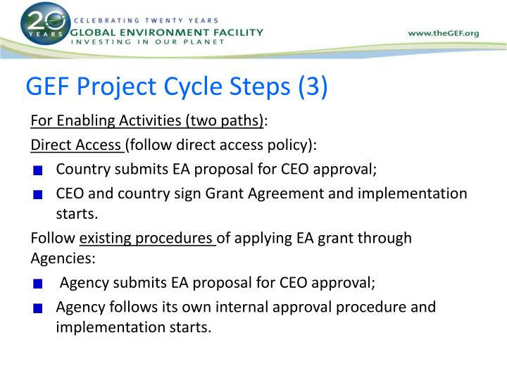 GEF Project Cycle Steps (3)