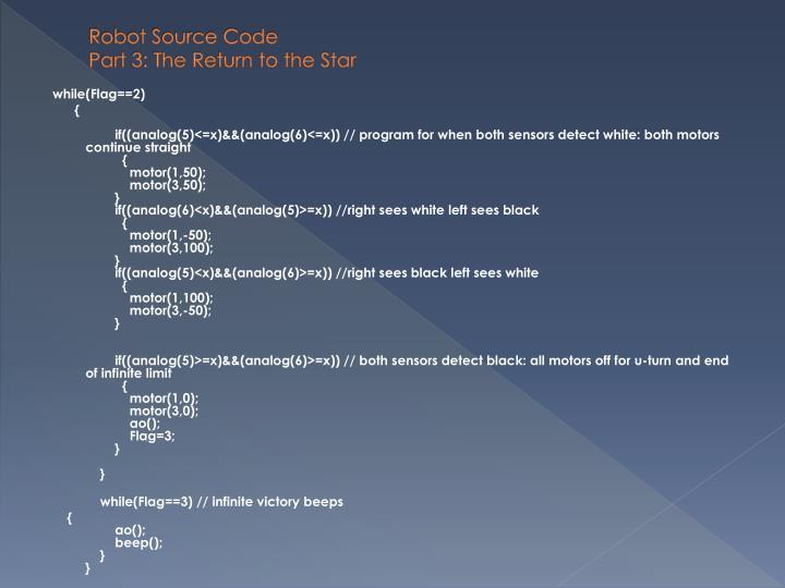 Robot Source Code