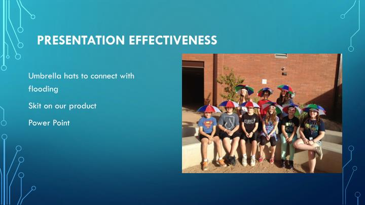 Presentation effectiveness