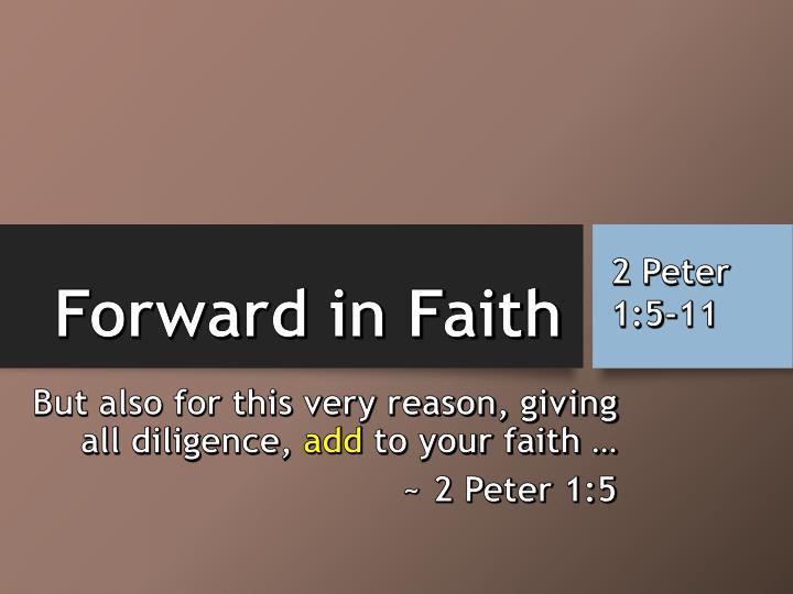 Forward in Faith