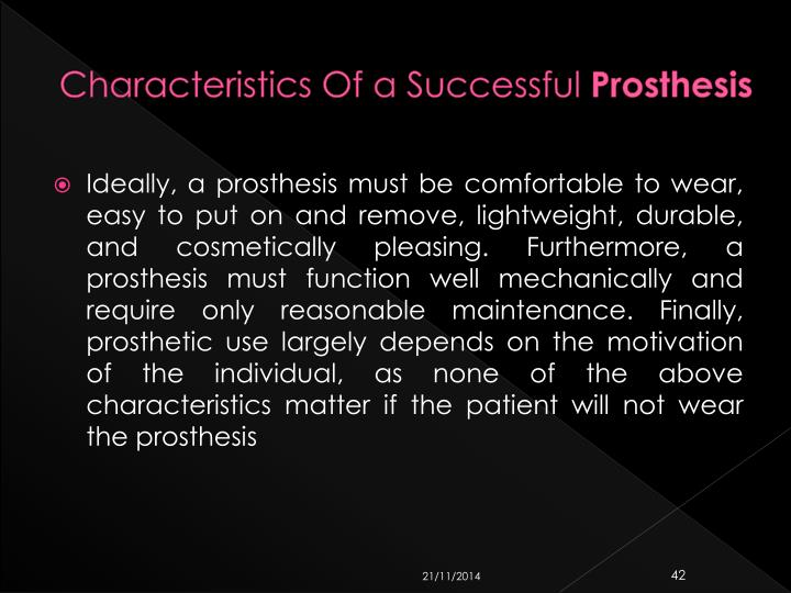 Characteristics Of a Successful