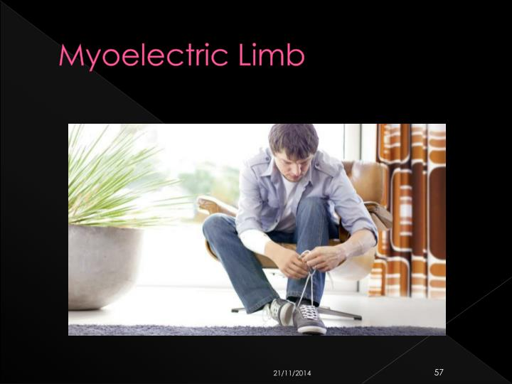 Myoelectric Limb