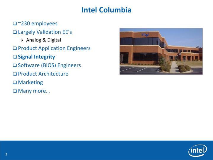 Intel Columbia