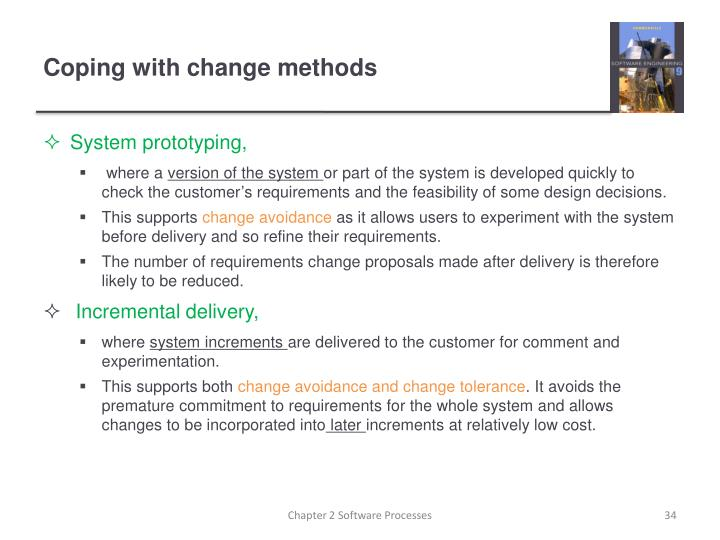 Coping with change methods