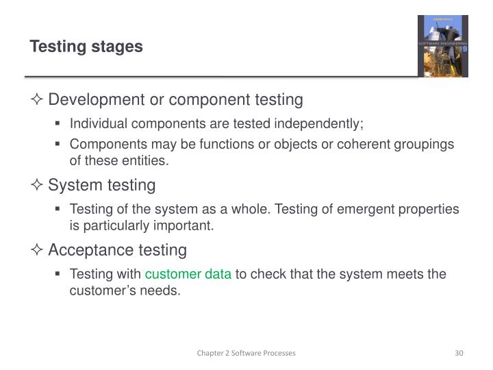 Development or component testing