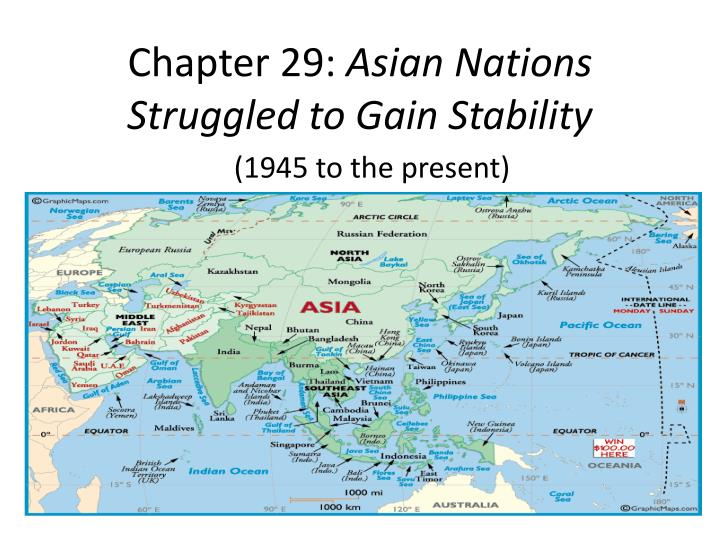 Chapter 29 asian nations struggled to gain stability