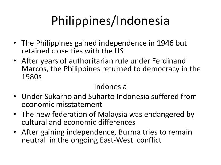 Philippines/Indonesia