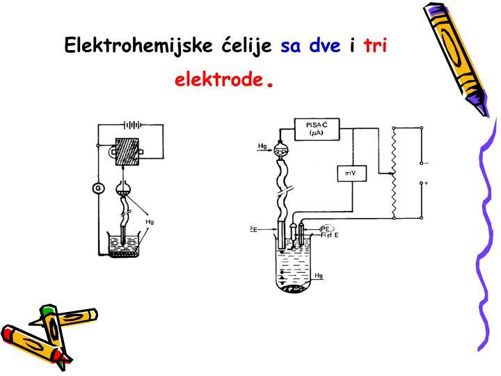 Elektrohemijske ćelije