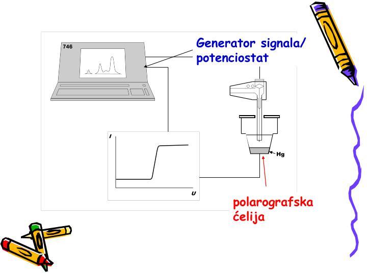 Generator signala/ potenciostat