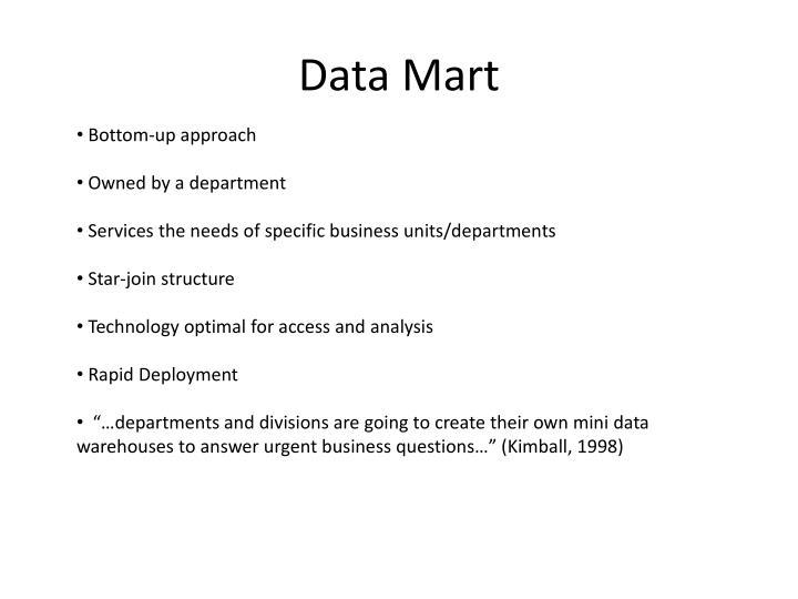 Data Mart