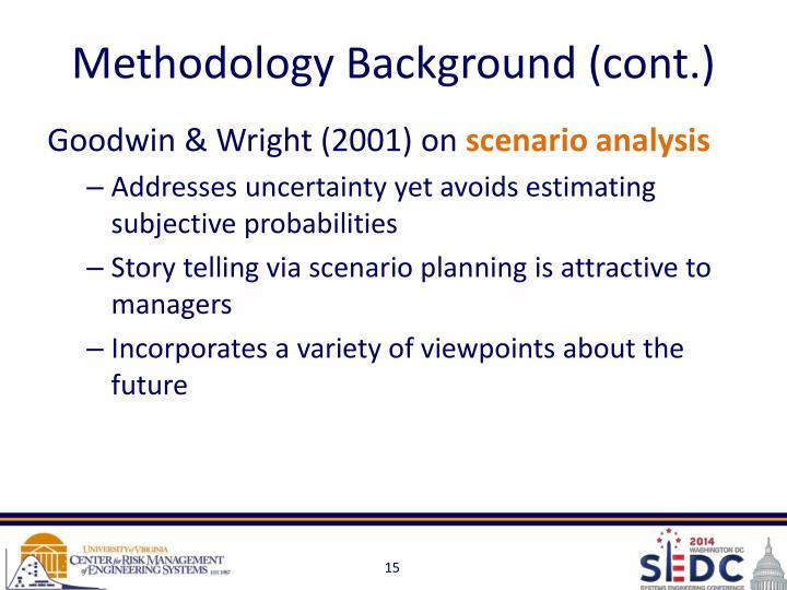 Methodology Background