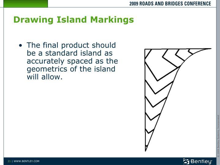 Drawing Island Markings
