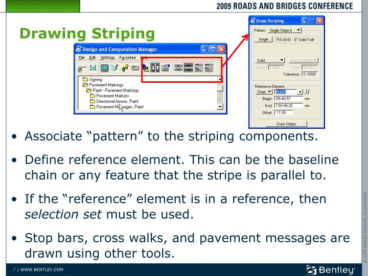 Drawing Striping