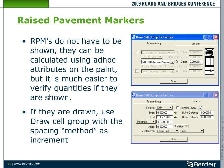 Raised Pavement Markers