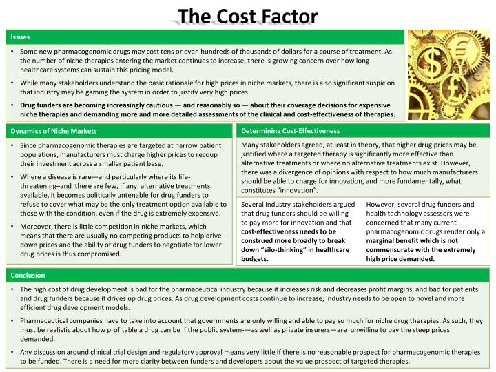 The Cost Factor
